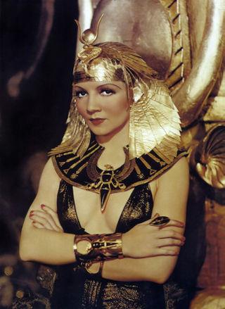 Colbert, Claudette (Cleopatra)2