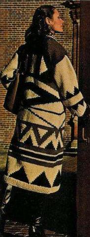 70sNavajoIndianSweater