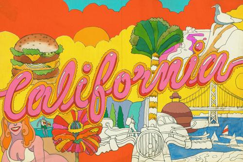 CaliforniaBanner(silk-rayon)