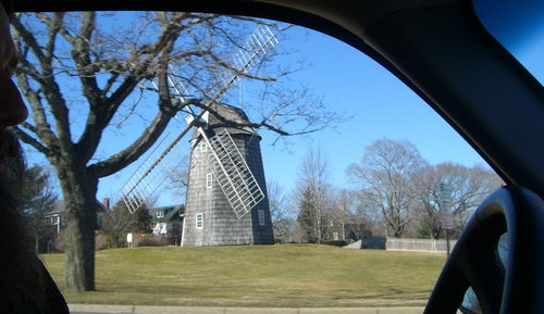 The windmills of my mind (in Montauk)